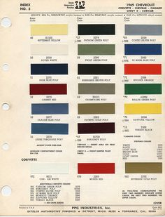1956 f100 paint colors | ... 1955 ford paint color codes ...