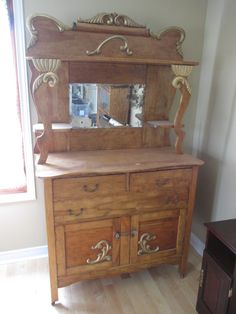 ANTIQUE VANITY HUTCH Estate sale from incredible Cumberland home – 1580 Stackhouse Court, Cumberland ON. Sale will take place Saturday, May 2nd 2015, from 8am to 4pm. The closest major intersection is Highway 174 & Old Montreal Road. Visit www.sellmystuffcanada.com to view photos of all available items and full sale description!