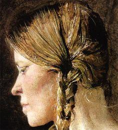 Andrew Wyeth Helga