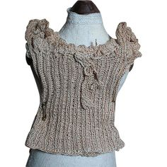 French Fashion Doll Knit Top Under Clothes