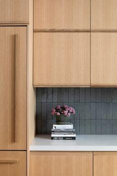 A Blonde Wood Indoor-Outdoor Kitchen Remodel in Brooklyn Brownstone Interiors, White Oak Kitchen, Indoor Outdoor Kitchen, Open Plan Kitchen Diner, Blonde Wood, Wood Kitchen Cabinets, Dark Oak Cabinets, Stewart, Family Kitchen