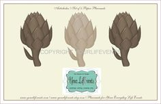 Printable Disposable Placemats / Instant Download Party Graphics DIY Printable Placemats via Etsy