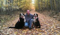 Big n bell and myself Bernese Mountain, Mountain Dogs, Unusual Animals, Cute Animals, The Shepherd, He Is Able, Working Dogs, Dog Friends, How To Introduce Yourself