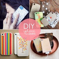 DIY iPhone cases with a little bling from Babble.com