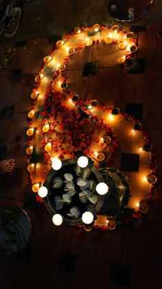 Diwali Decoration + Rangoli