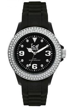 Montre Ice-Watch Stone Black Silver Sili Unisex