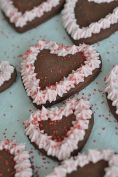 this and that: chocolate sugar cookies~~These are delicious! Had to add quite a bit of flour tho