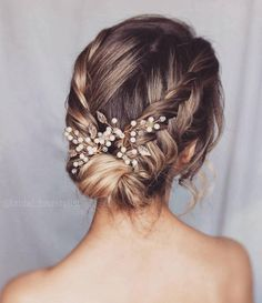 Easy Hairstyles 80 wedding hairstyles to reproduce for D Day Hairstyles 80 wedding hairstyles to reproduce for D Day Cute Braided Hairstyles, Box Braids Hairstyles, Bride Hairstyles, Cool Hairstyles, Indian Hairstyles, Lehenga Hairstyles, Wedding Hairstyles For Long Hair, Black Women Hairstyles, Formal Hairstyles