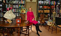 Lucy Worsley in her Secret Underground Lair. Dr Lucy Worsley, Celebrity News, Celebrity Style, London History, British History, Cozy Library, Gothic Looks, Brave Women, British Royal Families