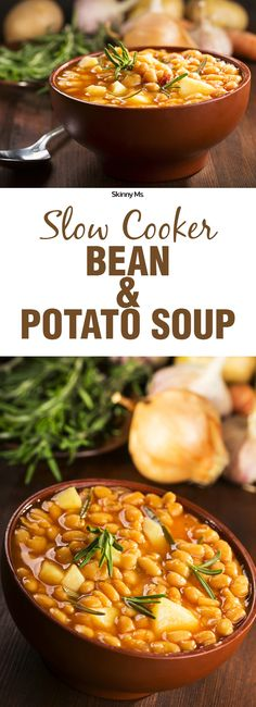 The slow cooker allows the array of spices and juicy vegetables to fuse together into one flavorful soup.