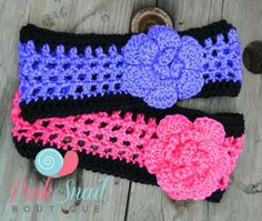 Photo by Pink Snail Boutique Free Crochet pattern,   sizes baby, small, medium, and large
