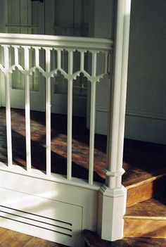 railing, love for the loft area.  would look great in our 1900's bungalow