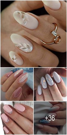 33 Pinterest Nails Wedding Ideas You Will Like ♥ Flowers in the bouquet will help you to choose the color for your nails. To make it easier to find ideas we've collected popular Pinterest nails ideas. #wedding #bride #weddingforward #weddingnails #PinterestNails #weddingbeauty