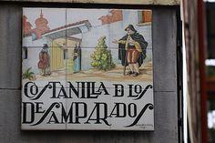 Costanilla de los Desamparados. Barrio de las Letras (Madrid) 24-11-2012