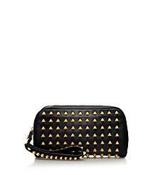 Pyramid Stud Wristlet Clutch- and this is marked down a ton right now, too!