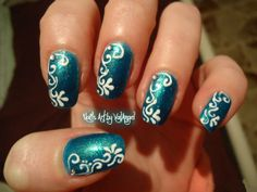 Line Art Nails : Valangel nails art full ellegance women s fashi