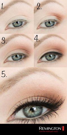 Un maquillaje súper natural para usar todos los días que permitirá que tus ojos se vean más grandes. #beauty #tips #makeup #style #cool #fashion #eyes #eyeshadows