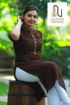 Stylish kurta designs to try this season - ArtsyCraftsyDad Churidar Designs, Kurti Neck Designs, Dress Neck Designs, Blouse Designs, Indian Designer Suits, Desi Wear, Stylish Girl Pic, Beauty Full Girl, Indian Beauty Saree
