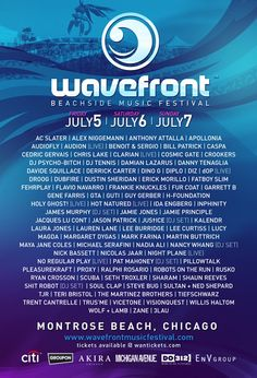 Wavefront Montrose Beach, Chicago