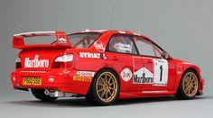 Subaru Impreza WRC2001 - Marlboro - 08