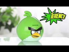 "Angry Birds Space Action Toy  ""Chirping"" Angry Bird Banks"