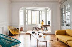 Casinha colorida: O apartamento dos meus sonhos em Bordeaux