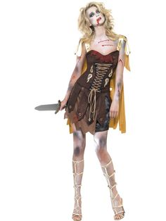 Fever Zombie Gladiator Costume