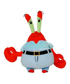 Take a look at this 13'' Mr. Krabs Plush Toy by SpongeBob on #zulily today!