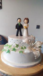 Sabines Torten: Hochzeitstorte mit Lilie