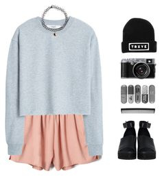 """""""☾My happy little pill, take me away☽"""" by grungebeauty02 on Polyvore featuring MANGO, The WhitePepper, T3, Accessorize, follow4follow, TRYXE and SetsByGrungeBeauty02"""