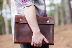 A4 Leather Folder/Leather Portfolio/Document