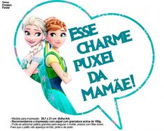 Plaquinhas Divertidas Frozen Fever 21
