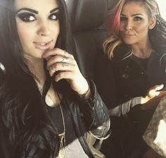Paige and Natalya