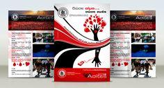 Flyer Design Flyers, Flyer Design, Concept, Ruffles, Leaflets, Leaflet Design