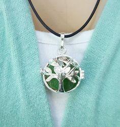 Tree of life locket necklace with sea glass Earrings Uk, Silver Drop Earrings, Silver Bracelets, Silver Jewelry, Silver Ring, Tree Of Life Necklace, Locket Necklace, Bar Necklace, Pendant Necklace