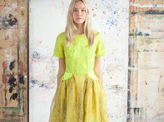 Satu Maaranen SS 11 / shot by Jan-Erik Martens Design Museum, Awards, Short Sleeve Dresses, Mens Fashion, Finland, Fashion Design, Inspiration, Clothes, Style