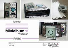 Inspirationsgalerie Minialbum Werkstatt Mini mit Leporello von Nicole