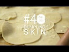 How to make Dumpling Skin! A simple recipe that is fool-proof! Asian Foods, Asian Recipes, Dumpling Skin, How To Make Dumplings, Vegetable Dumplings, Joy Of Cooking, Skin Food, Dim Sum, Food Inspiration