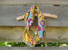 Toddler Infinity Scarf, Circle Scarf, Floral Infinity Scarf, Children Scarf, Photo Prop, Pink Floral Scarf, Green Infinity Scarf, Loop Scarf