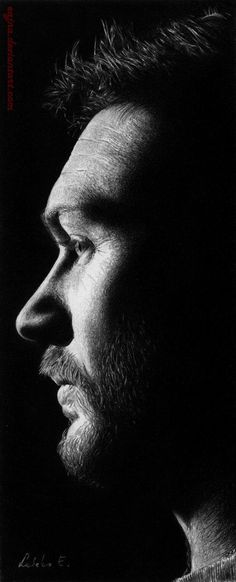 """""""Tom Hardy"""" - Pencil Drawings by eajna 