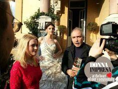 http://www.donnaimpresa.com  Intervista & servizio moda (fashion designer ADRIANA AGOSTINI) a VALERIANA MARIANI, BRUNO ROMANO BALDASSARRI (Donna Impresa Magazine) E GIUSEPPE VIGILANTE - VALGANNA - Villa Cesarina  by MDI Tv (Romania) regia di Sebastian Dragan. 8 marzo 2014 ph:George Cristian http://www.captainjack.it  siamo su Fb: https://www.facebook.com/pages/DONNA-IMPRESA-MAGAZINE-ITALIA/191099372856