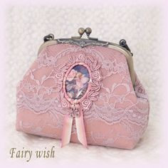 Flower Fairy mouthpiece pouch (classical Pink) - Fairy wish web shopping catalogue