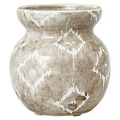 Have You Met Miss Jones Frida Vase, Grey