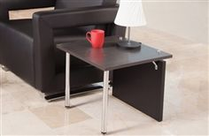 This attractive end table from the OFM Profile collection pairs perfectly with seating form the Uno, Distinct, Morph, and Serenity lines. The Profile 2014 table is available in a wide range of attractive finish options.