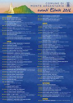 Estate 2016 - Calendario Eventi di Monte Argentario