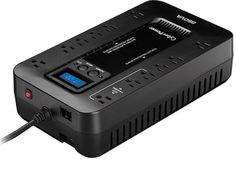 CyberPower EC850LCD Ecologic 850VA/510-Watts Energy Efficient Desktop LCD UPS #deals