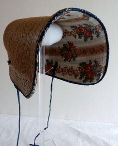 Poke Bonnet lining, 1815