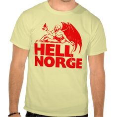 HELL,NORWAY T-SHIRT