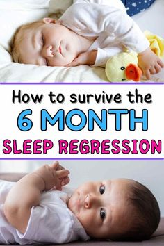 If you have a 6 month old baby suddenly waking up multiple times at night, he/she might be going through the 6 month sleep regression. Here's all the signs of the 6 month sleep regression and tips on how to tackle it fast. #sleepregression #babysleeping #momtips 7 Month Old Sleep, 7 Month Old Baby, 7 Month Sleep Regression, 6 Month Old Schedule, Getting Baby To Sleep, Gentle Sleep Training, Baby Sleep Schedule, 7 Month Olds, 6 Months