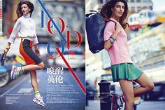 London: Kate King By James Meakin For Harper's Bazaar China September 2014